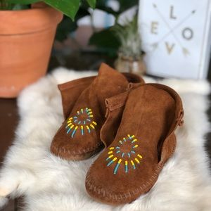 ➳ ➳ T A O S  Suede Kids Moccasins ➳ ➳
